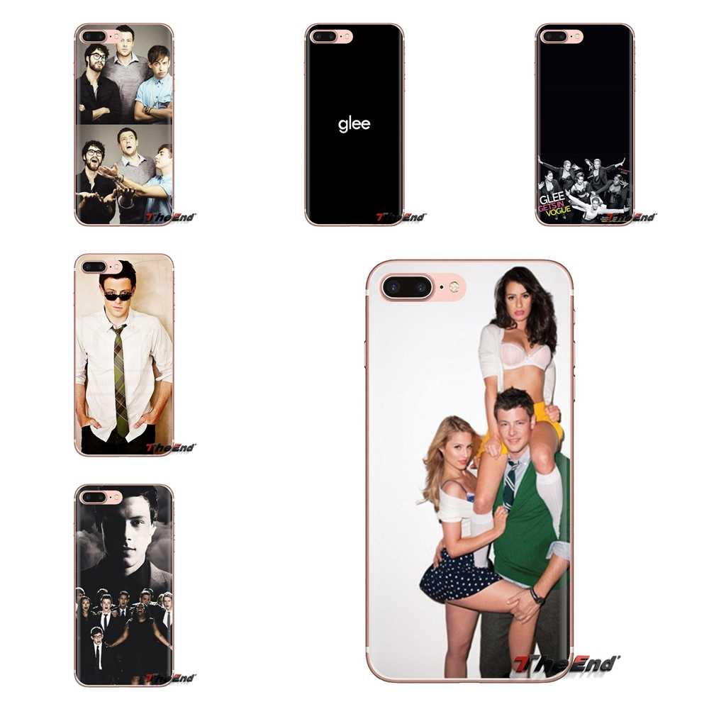 Voor Xiaomi Mi3 Samsung A10 A30 A40 A50 A60 A70 Galaxy S2 Note 2 Grand Core Prime Glee ster Cory monteith Siliconen Telefoon Tas Case