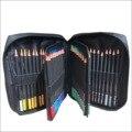 Набор цветных деревянных карандашей 72 цветов  профессиональные инструменты для ручного рисования для взрослых  нейлоновая сумка  канцеляр...