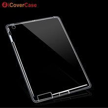 Soft Silicone Case For iPad 4 3 2 Protective Cover Shell Clear TPU Case For Appl