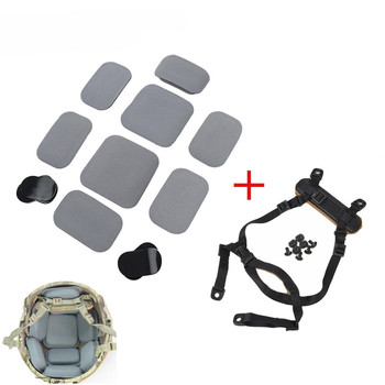 FMA ยุทธวิธีการล่าสัตว์หมวกกันน็อกอุปกรณ์ป้องกัน Pad และระบบ H - Nape สำหรับ CP/MICH หมวกนิรภัย