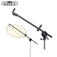 PRO 26 69 Studio Photography Photo Arm Support Holder Bracket With Swivel Head For Light Reflector