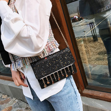 Women Luxurious Sequined Quality Leather Shoulder Bag (4 colors)
