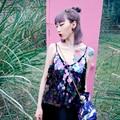 Bt027 Original Design 2016 sexy verão top artesanal bling bling lantejoula camisola mulheres