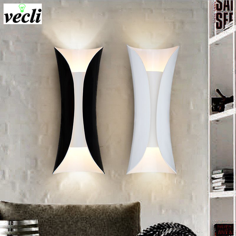 Modern Sconce Lighting Wall Mounted stair aisle Bedside Creative Wall lamp Living Room home decoration E27 Wall Sconces bra modern wall lights hallway lighting art deco wall decoration lights metal wall mounted bedside sconces adjustable wall lamp home
