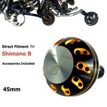 Gomexus Reel Power Knob For Shimano B Handle SW Reel Twinpower Saragosa Biomaster Stella Spheros Stradic FK5000 Ocea Jigger 45mm