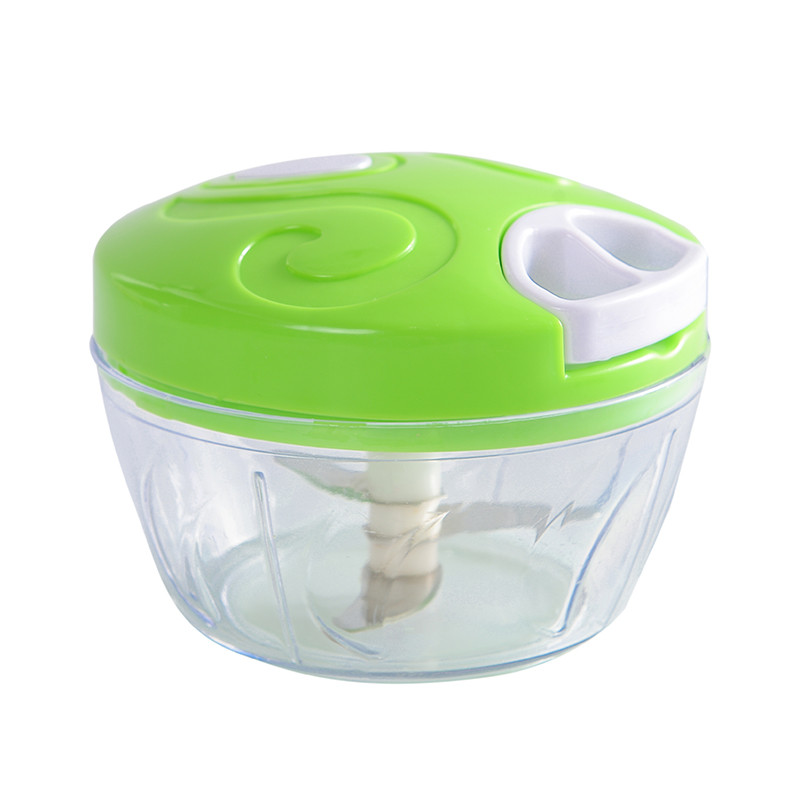 Kitchen Hand Chopper Manual Rope Food Processor Silcer Shredder Salad Maker Box style Garlic Onion Slicer Cutter