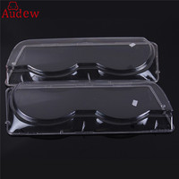1Pcs Clear Headlight Lenses Plastic Covers Right Left For BMW 7 Series E38 Facelift 1998 2001