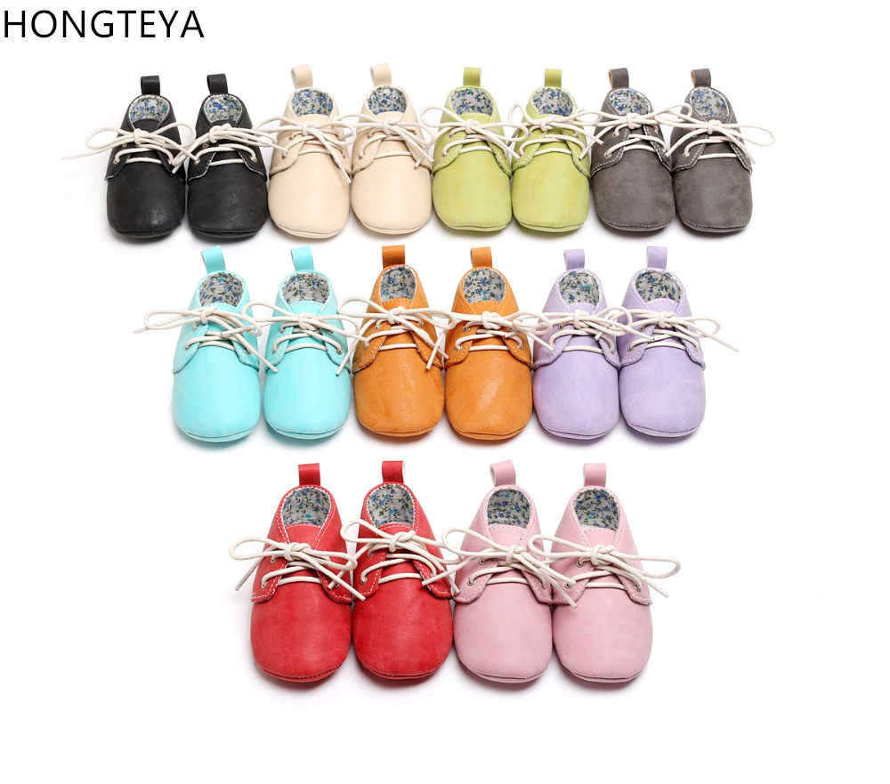 Newborn Baby Boy Girl Moccasins Shoes Fringe Soft Soled Non-slip Footwear Crib Shoes PU Leather First Walker Shoes