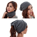 spring 3 way to wear(as beanies\ring scarf\headscarf)neck warmer beanie cap autumn hat for women,bonnet femme,gorros mujer