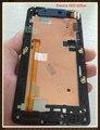 New black original completa lcd display & touch screen + assembleia quadro para htc desire 600 606 w dual sim