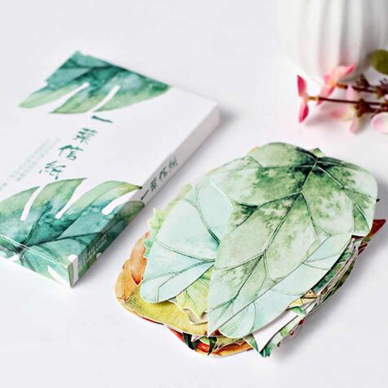 30 pcs/lot novelty leaves shape postcard greeting card christmas card birthday card gift cards