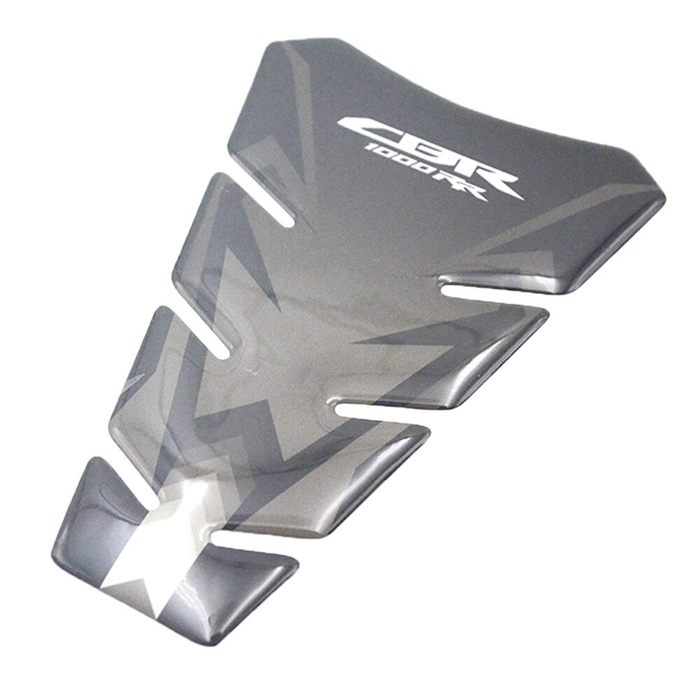 Carbon 3D ADESIVI Sticker Decal Emblem Protection Tank Pad Cas Cap Fit Honda CBR1000RR