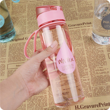 Leak Proof Unisex Sports Drinking Water Bottle High Quality Eco-friendly with Rope Tour Hiking Portable Bottles 500ml