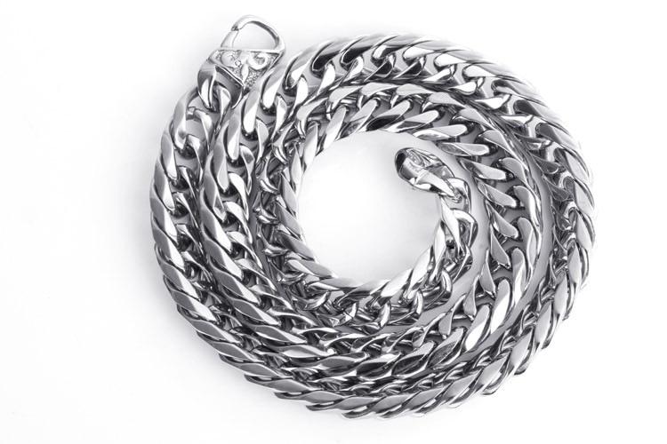 Hip Hop Cuban Chains For Men Jewelry Wholesale Silver ...