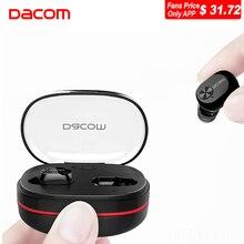 Dacom K6H TWS True Wireless Earbuds Micro Earpiece Noise Canceling Mini Twins Headset Stereo Ear Bluetooth Earphone Headphones
