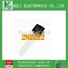Бесплатная Доставка 1000 ШТ. 2N2222 Транзисторы NPN TO-92 новые продукты и ROHS 100% НОВЫЙ оригинал