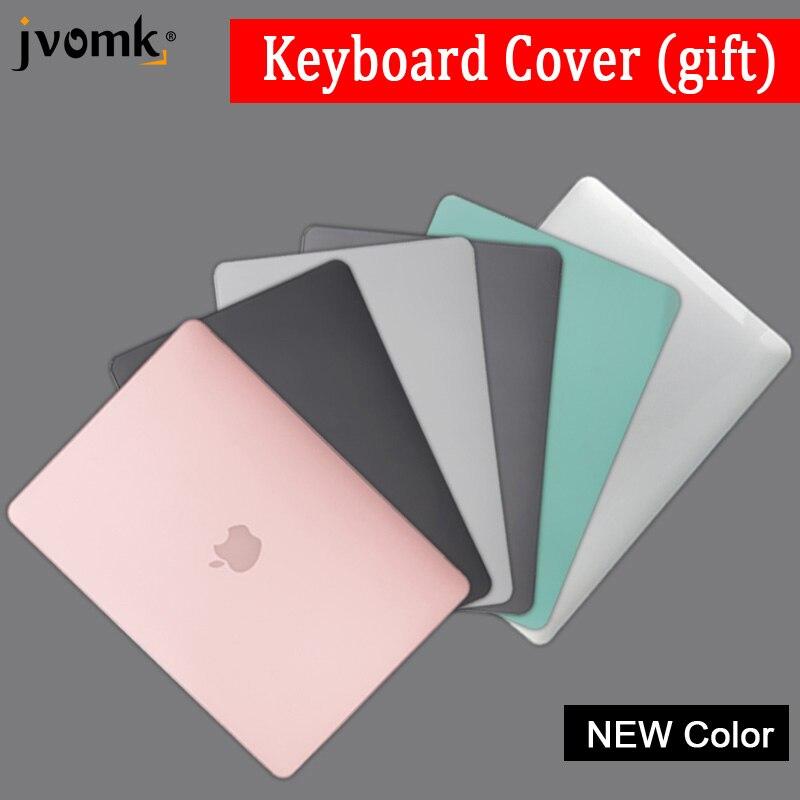 2018 neue farbe laptop Fall Für Apple macbook Air Pro Retina 11 12 13 15 Für Mac buch 13,3 zoll mit Touch Bar + Tastatur Abdeckung