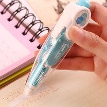 Kawaii Cute Correct Correction Tape Pens Blue Green Korea Kids School Office Supplies Korean Stationery Novelty For Student