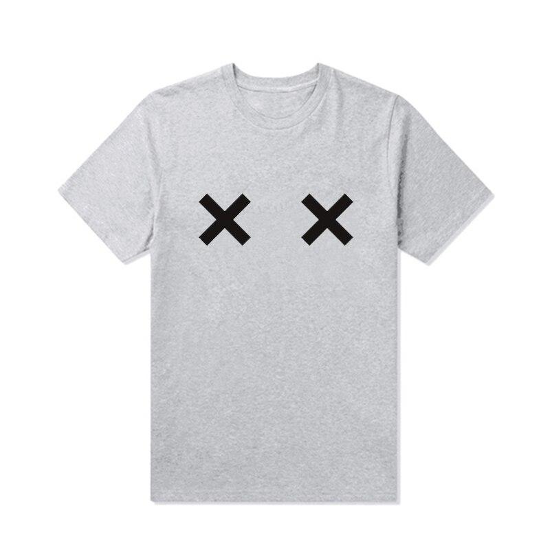 Letter Print Female T-Shirt