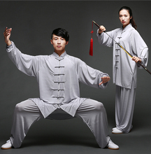Unisex Cotton silk Blend Kung Fu Tai Chi Uniform Martial Arts Wear Bruce Lee Jackie Chan Jet Li Outfit high quality cotton linen kung fu clothes bruce lee wing chun tai chi uniform martial arts suit wushu clothing jacket pants