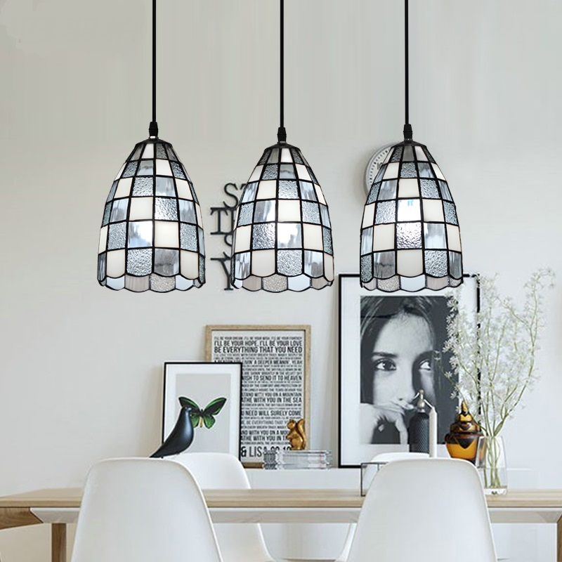 American style Pendant Lights simple dining room droplight dining room bar three heads European style Mediterrane LU830492 modern simple european style dining room lighting american hollow carved iron bedroom pendant lights