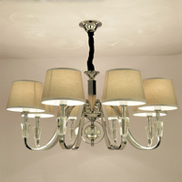 Crystal droplight sitting room contracted and contemporary bedroom LED lamps sitting room LED Chandelie Pendant Lamp