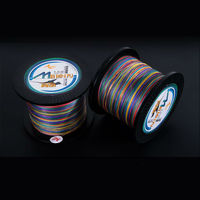 Super Strong Multifilament PE Braid 8 Strands 8 Weaves 500M 0 4 8 0 Fishing Line