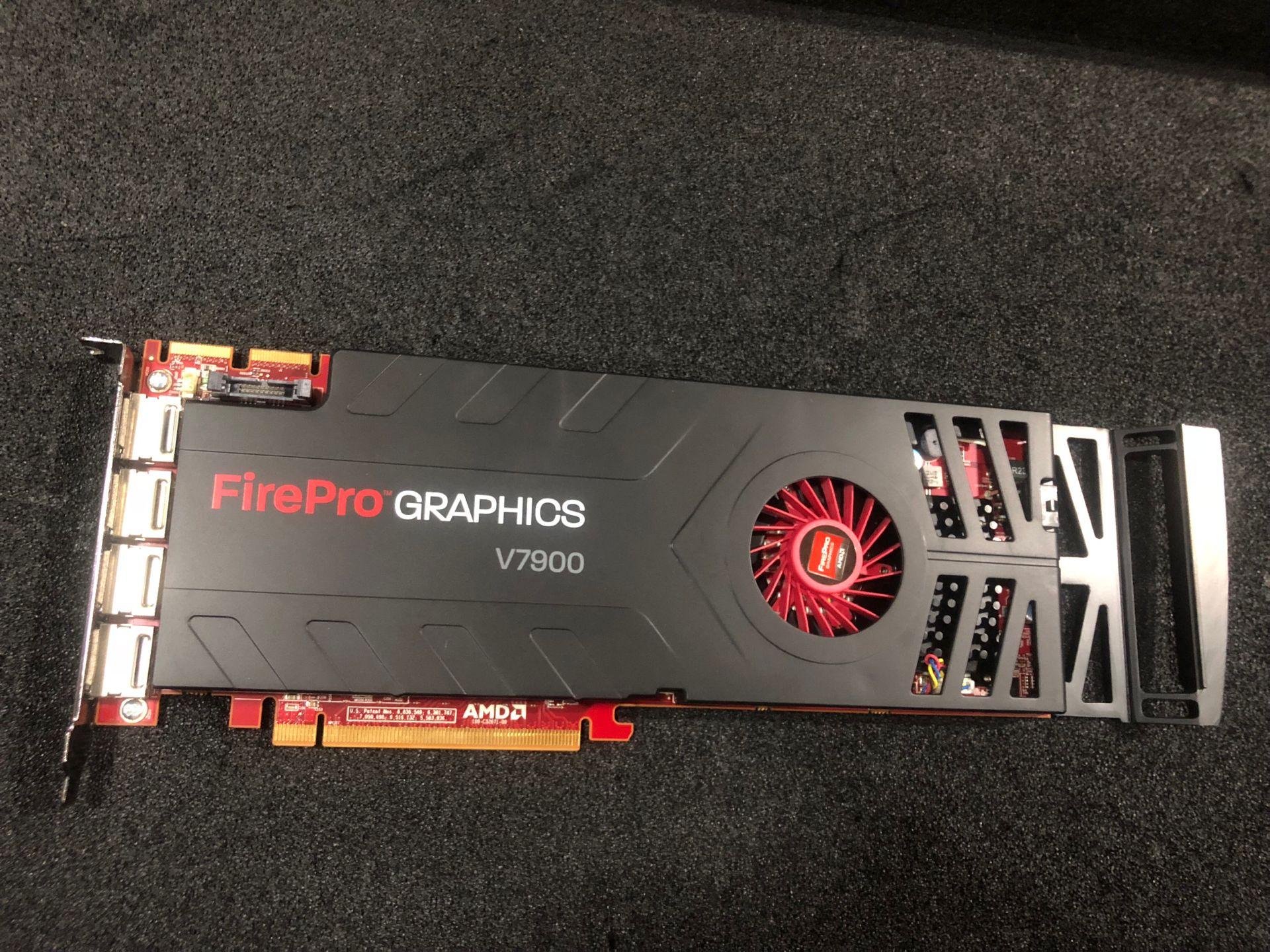 Original amd Firepro V7900 2GB professional graphics card 2G 4 screen output(China)
