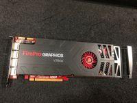 Original amd firepro v7900 2 gb placa gráfica profissional 2g 4 saída de tela