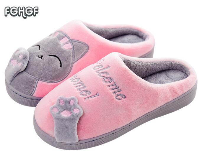 winter slippers women home slippers men soft house slippers cute cartoon warm slipper zapatos mujer pantufa chinelos women shoes soft house slippers women men home shoes cute bedroom foot warmer japanese indoor slippers fur pantufa zapatillas casa chaussons