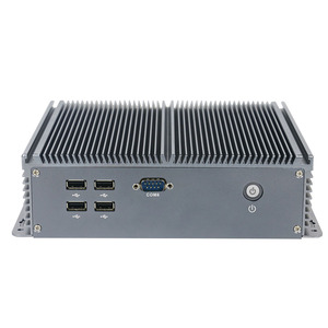 Image 3 - Yanling itx mini ordenador de baja potencia, intel celeron J1900, quad core, lan dual, Sin ventilador, pc industrial con puerto paralelo