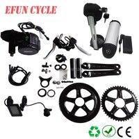 Factory price DIY conversion ebike kit Bafang BBS01 36V 250W mid motor kits with 36V 13Ah USB bottle down tube Li ion battery