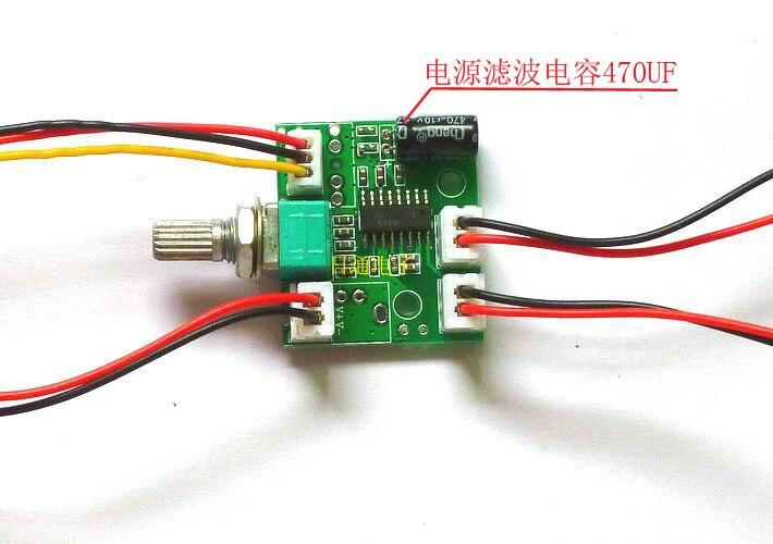 Free Shipping! 1pc PAM8403 mini USB powered digital amplifier board Dual-channel power 3W +3 W finished board