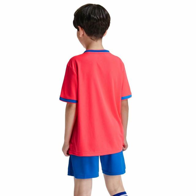 High Quality Customized Kids Soccer Jerseys Sets Survetement Football Kits Child Futbol Jerseys Training Cheap Uniforms Sets