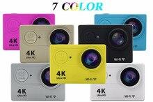 A estrenar de la acción Del Deporte cámara de vídeo 4 K wifi Ultra HD 1080 p 60fps 170d ir impermeable cámara mini pro deportes cámara gopro hero 4 estilo