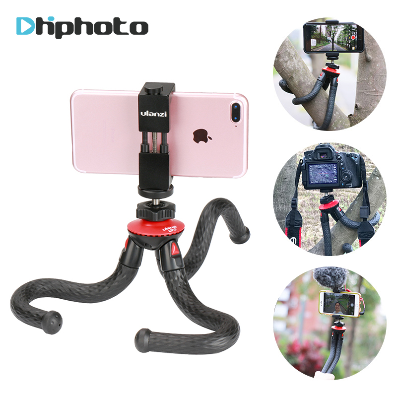 Ulanzi UFO Flexible Tripod with Ballhead Bundle for DSLR and Mirrorless Camera vlogging gear for iPhone