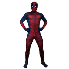 Adult Deadpool Costume Cosplay Men Carnival Halloween For Party Suit