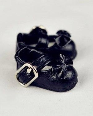 BJD doll shoes lati canvas pu leather shoes long inside  3.2*1.5cm