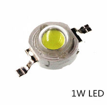 50 pces 1 w diodo led 1 watt chips de alta potência led diod branco emissor de luz-diodos 1-watt branco 110-120 lm led contas led 1-w branco