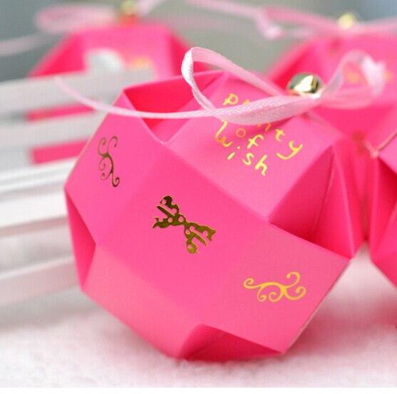 Aliexpress.com : Buy 100pcs/lot Red Rose DIY Beautiful Candy Box ...