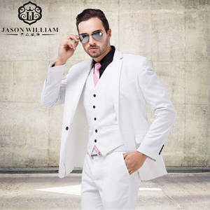 Jason William Formal Dress Men Suit Set men wedding suit