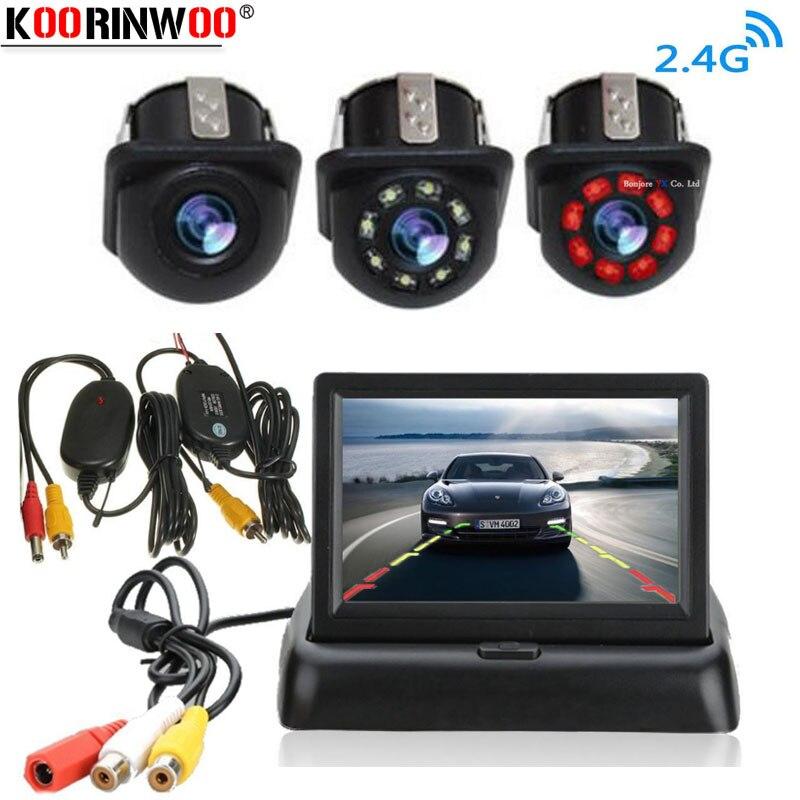 Koorinwoo Car Parking System Kit 4.3