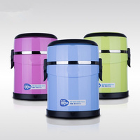 KuBac Thermal Lunch Box Stainless Steel Insulation Storage Food Container Student Dinnerware Set Portabl Food Container