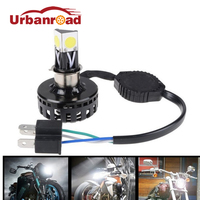 H6 Ba20d H4 Led Motorcycle Headlight Bulb Hi Lo 6000K Ba20d H6 Led Moto Motorcycle Headlamp