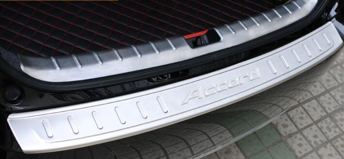 for Honda 14-17 9.5 generation Accord Trunk Rear Guard Plate Car Rear...