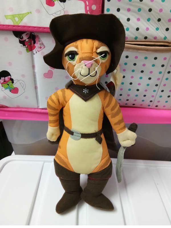 14 Shrek 2 Puss In Boots Plush Toys For Children Christmas Kids Halloween Gift Movies Tv Aliexpress