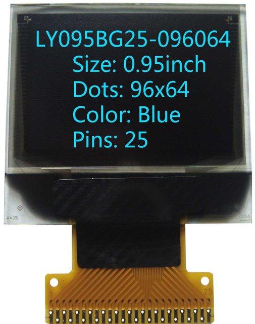 0.95 inch 96x64 oled screen oled display  OLED