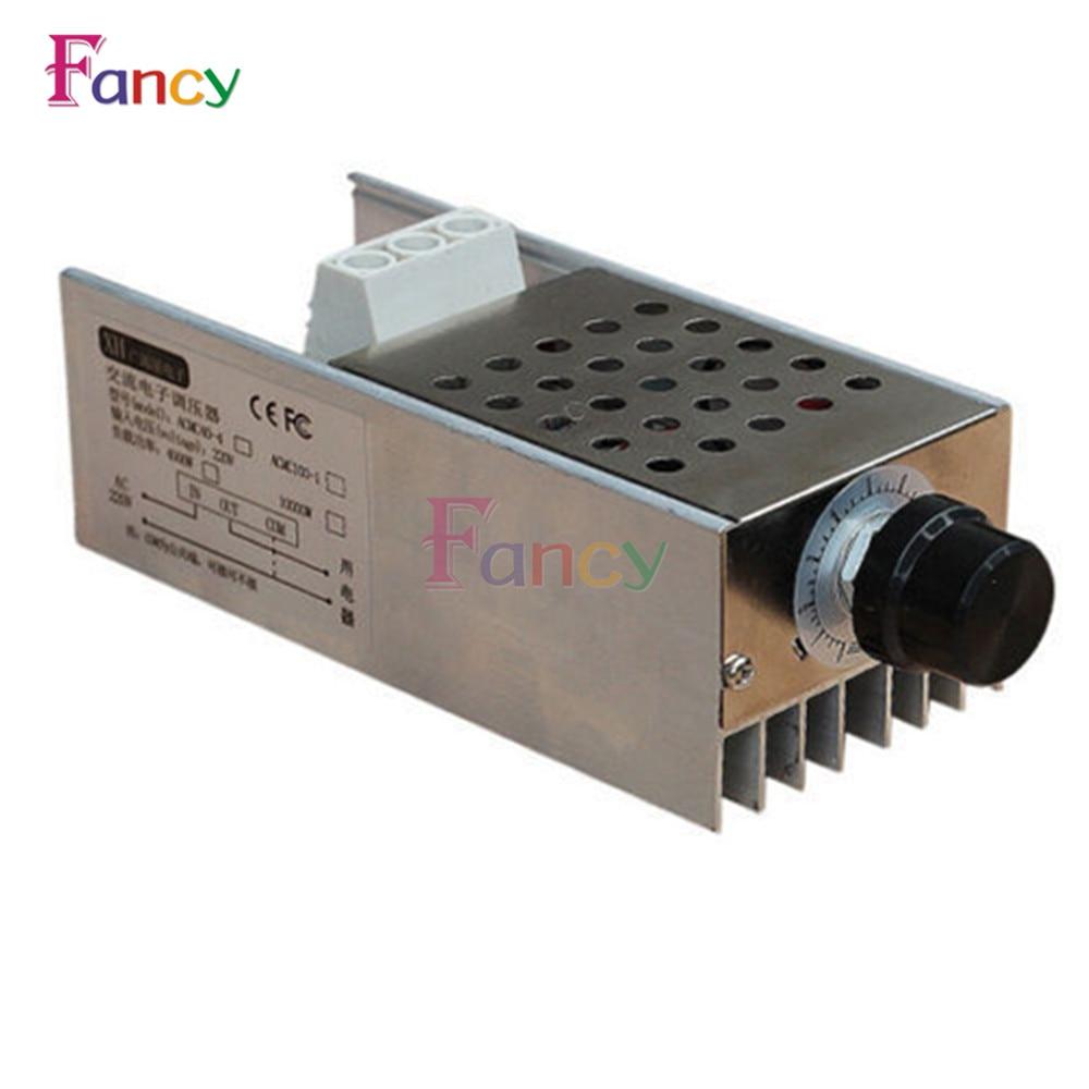 10000W SCR Voltage Regulator Motor Speed Controller Dimmer Thermostat AC 110V 220V With Heatsink