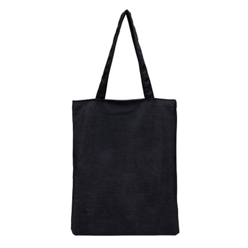 Plain Black Bags Promotion-Shop for Promotional Plain Black Bags ...