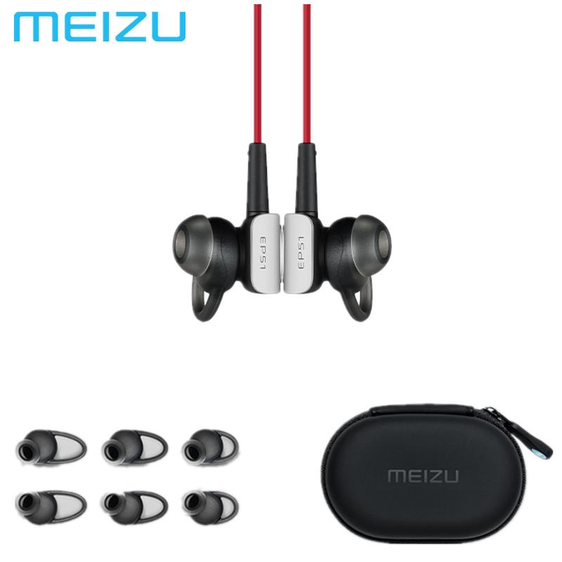 Prix pour 2017 MEIZU EP51 Bluetooth Étanche Sport Écouteur Casque Pour Téléphone Ordinateur Écouteurs Sans Fil APT-X Avec MICRO Stéréo Casques